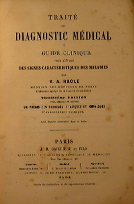 Traitè de diagnostic medical