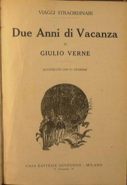 Due anni di vacanza: Verne Jules
