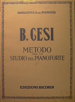 Metodo per lo Studio del Pianoforte.Fascicolo IV: Cesi Beniamino