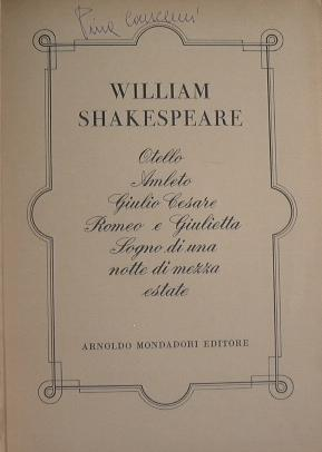 William Shakespeare: Shakespeare