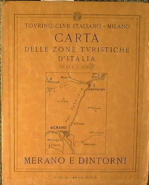 Carta delle zone turistiche d'Italia