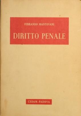 Diritto penale: Mantovani Ferrando