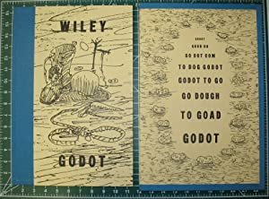 """GODOT: An Imaginary Staging by William T. Wiley of """"Waiting for Godot"""" by Samuel Beckett.: ..."""