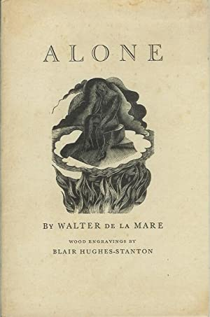ALONE. (The Ariel Poems Number 4).: de la Mare, Walter. Wood engravings by Blair Hughes Stanton.