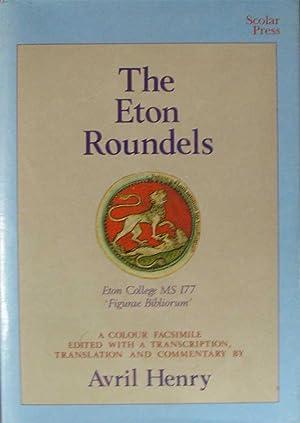 THE ETON ROUNDELS. The Eton College, MS 177 ('Figurae bibliorum'). A colour facsimile with ...