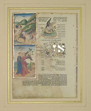 FACSIMILE LEAF FROM THE ROTHSCHILD MISCELLANY: Facsimile)