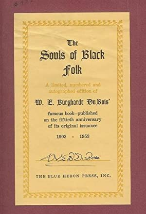 du bois souls of black folk essay
