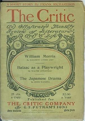 "AGAIN THE LITERARY ASPIRANT. (Article in ""The Critic."" Vol. XLI, No. 3. Sept. 1902): ..."
