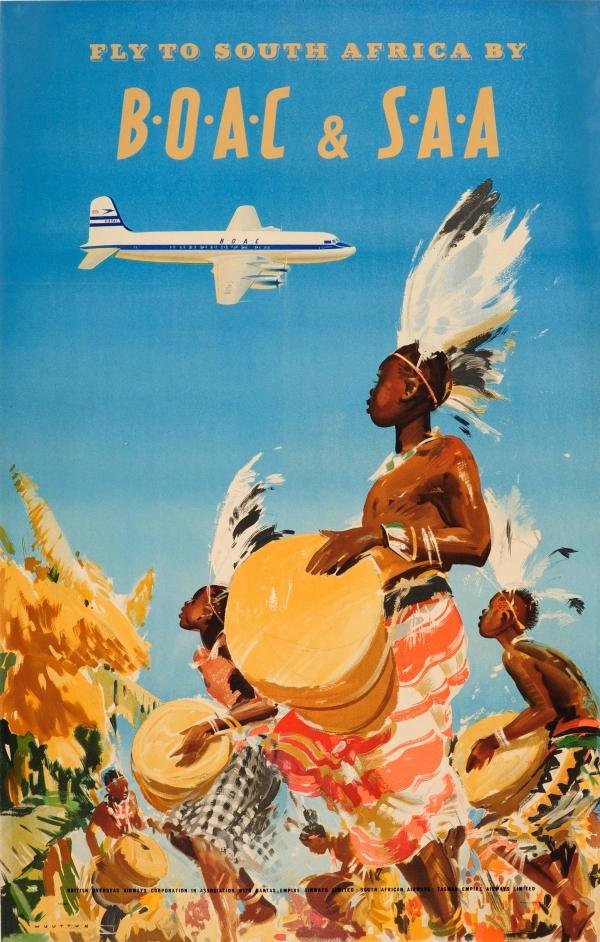South Africa by BOAC Wootton