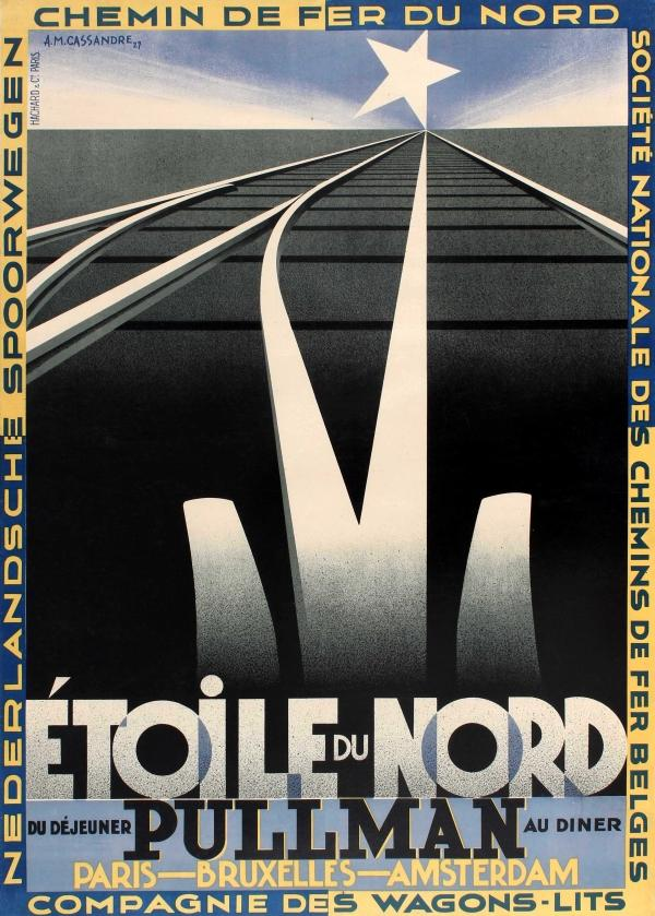 Advertising Poster Etoile du Nord French