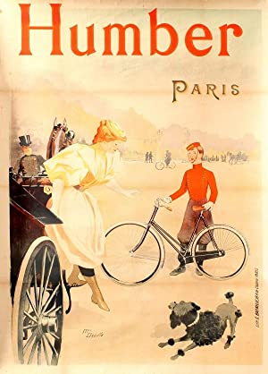 Humber Bicycles Paris Art Nouveau Deville: Maurice Deville