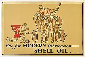 Advertising Poster Shell Oil Banting: John Banting