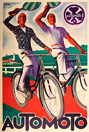 Automoto Bicycles Art Deco Tennis: Maurice Lauro