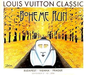 Advertising Poster Louis Vuitton Classic Boheme Run: Razzia
