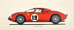 Ferrari 250LM Racing Car