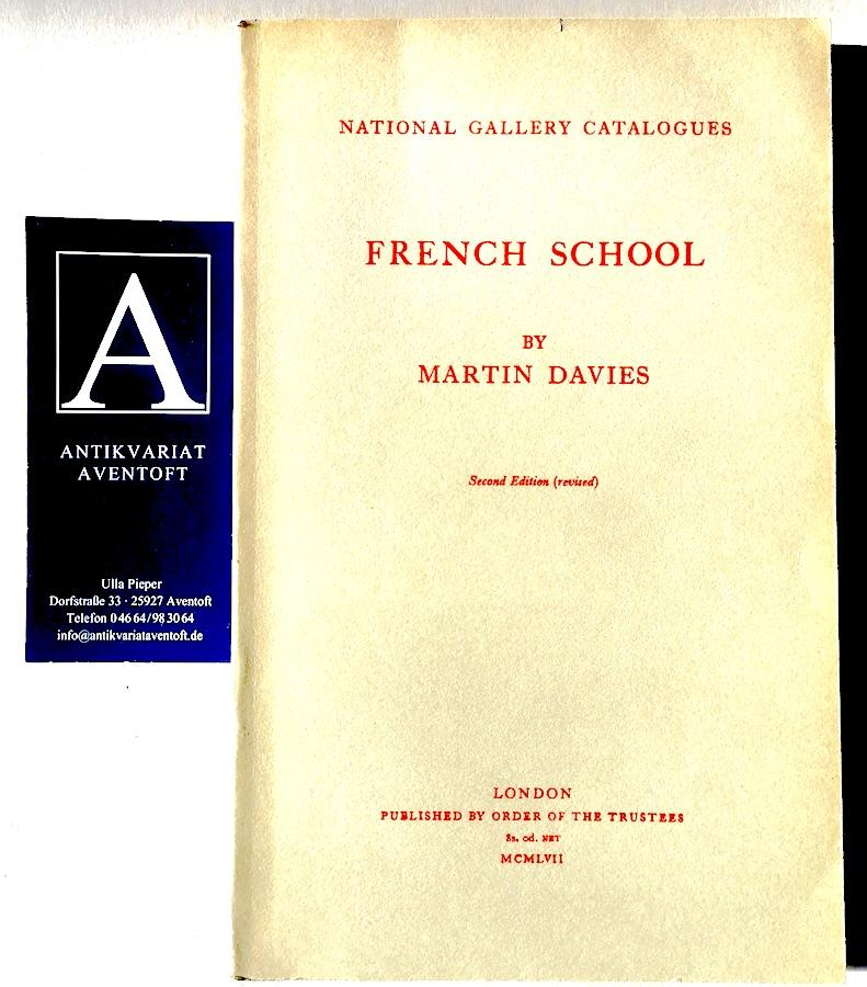 National Gallery Catalogues: French School: Davies, Martin