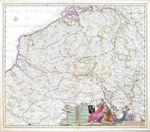Provinciae Belgii Regii tabula novissima et accuratissima: Danckerts, Justus