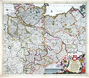 Circulus Saxoniae Inferioris, in quo sunt Ducatus: Danckerts, Justus