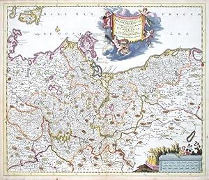 Marchionatus Brandenburgensis in quo sunt vetus, media: Danckerts, Justus