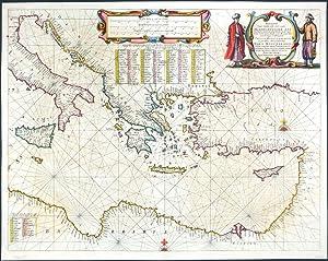 Pascaarte van`t Oostelyckste deel vande Middelandsche Zee: Janssonius, Johann