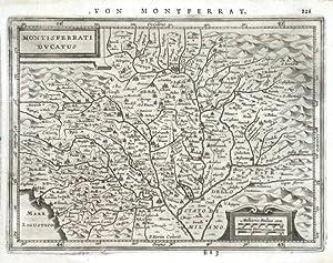 Montisferrati Ducatus: Janssonius, Joannes