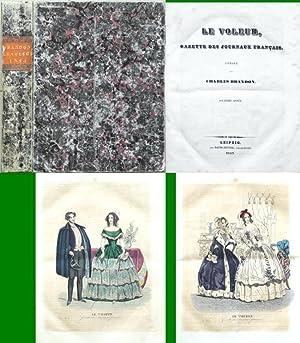 Le Voleur, Gazette des journaux francais. Anee 1843.: Brandon, Charles
