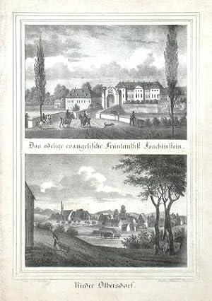Das adelige evangelische Fräuleinstift Joachimstein: Möckel, Julius