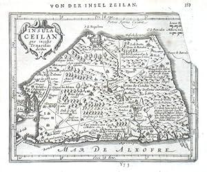 Insula Ceilan quae incolis Tenarisin dicitur: Kaerius, Petrus