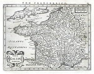 Nova Galliae Tabulae: Janssonius, Joannes