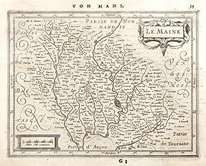 Le Maine: Janssonius, Joannes