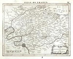 Le Govvernement de l'Isle de France: Janssonius, Joannes