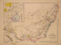 Bett's Family Atlas South Eastern Australia [with] Betts's Map of the Gold Regions of Australia Betts, John