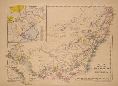 Regions Of Australia Map.Bett S Family Atlas South Eastern Australia