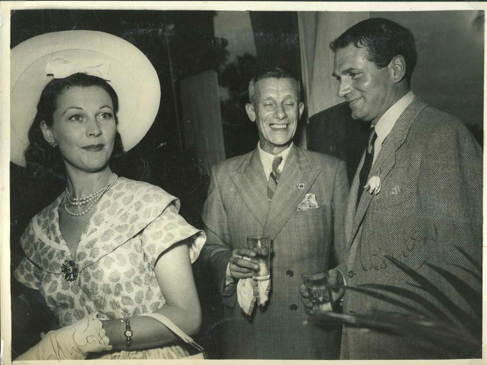 Vivien Leigh And Laurence Olivier Signed