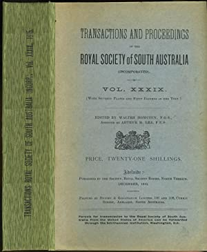 Scientific Notes on an Expedition into the North-western Regions of South Australia