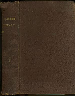 Humboldt Library of Popular Science, 8 bound issues, 1881 - 1885: Clodd, Edward; Rawlinson, George;...