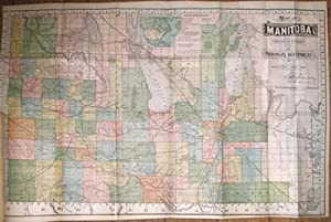 Map of Manitoba published by Authority of the Pronvicial Government Winnipeg, June, 1891