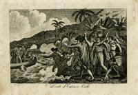 Death of Captain Cook. Print