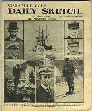Miniature Copy, Daily Sketch: The Antarctic Heroes