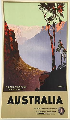 The Blue Mountains New South Wales. Australia.: Northfield, James. Australian