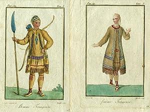 Homme Toungouse [with] femme Toungouse: Grasset de Saint Sauveur, Jacques