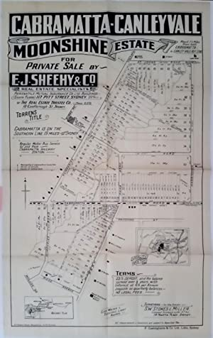 Cabramatta-Canley Vale Moonshine Estate for Private Sale by E.J. Sheehy & Co. with all lots avail...