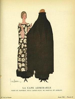 La Cape Admirable: Robe et Manteau, Pour: Lepape, George