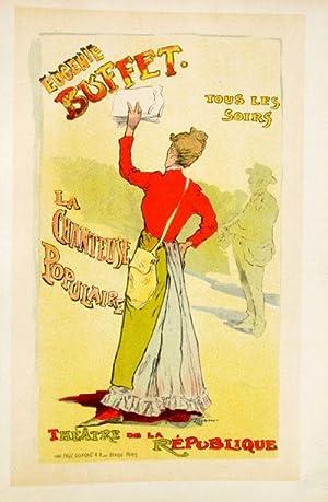 Affiche pour le Theatre de la Renaissance: Stevens, Leopold