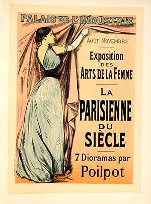 Affiche pour l'Exposition des Arts de la Femme (sept dioramas par Poilpot), Les Maitres de l&#...