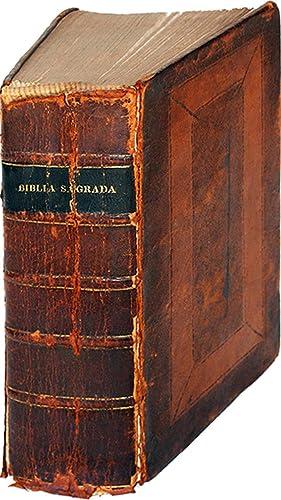 American Bible Printed in Spanish: La Biblia: Scio de S.
