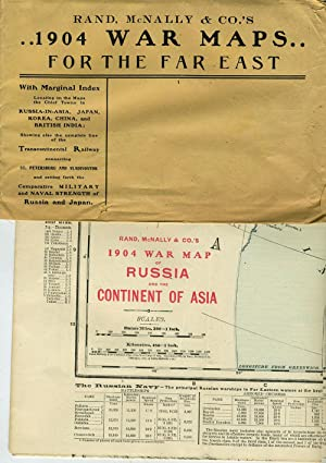 Rand, McNally & Co.'s 1904 War Maps for the Far East: Russia and the Continent of Asia [...