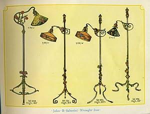 1928 John B Salterini Wrought Iron Catalogue