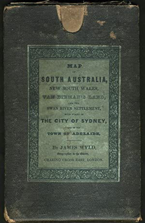 Map of South Australia, New South Wales, Van Dieman's Land and the Swan River Settlement, with pl...