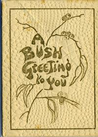 A Bush Greeting to You, a Gum-nut babies greeting card: Gibbs, May